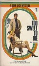 Ron Goulart(ロン・グーラート)/ Too Sweet to Die